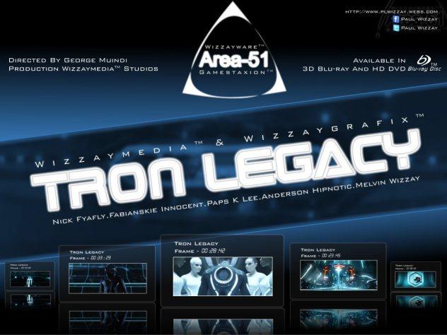 Tron Legacy- Area 51