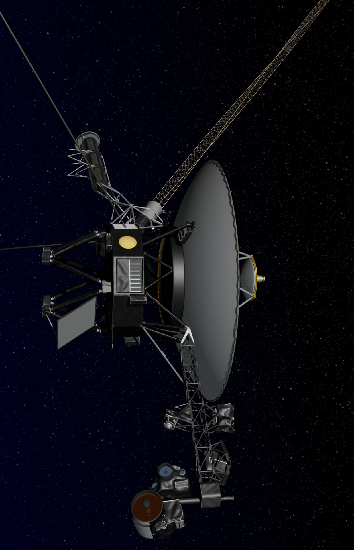 space probe voyager - HD 1236×1920