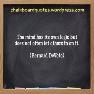 The minds logic