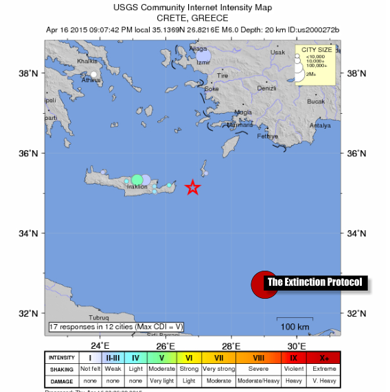 Crete Quake