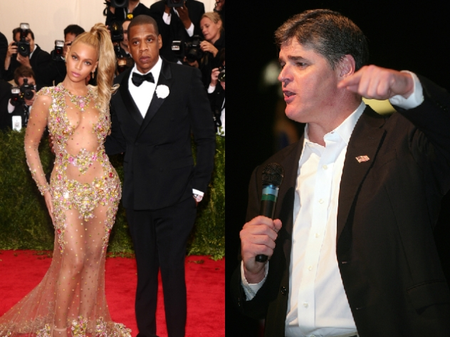 Beyonce Jay Z Sean Hannity